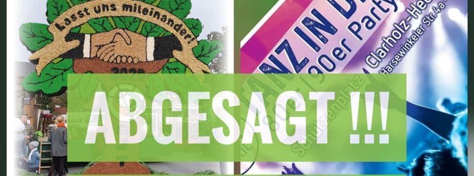 Absage Bezirksschützenfest mit dem Bezirksjungschützentag 2020