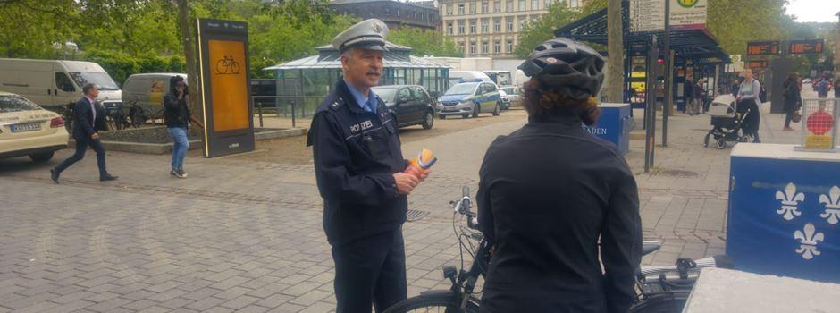 So will die Polizei Wiesbaden sicherer für Radfahrer machen