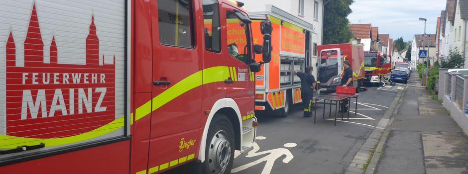 Zwei Personen in Lebensgefahr: Feuerwehreinsatz in Marienborn