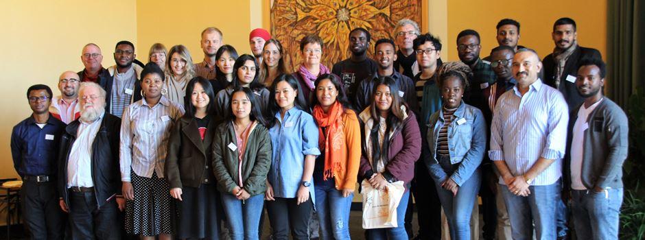 30 Studenten aus 15 Ländern