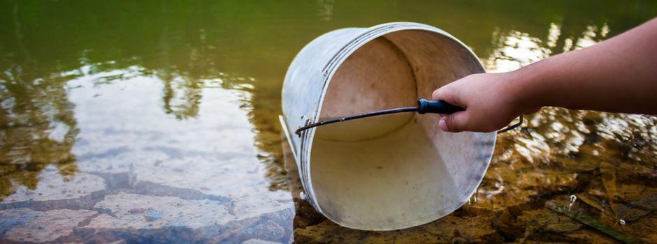 Sofortiges Verbot von Wasserentnahme aus Wiesbadener Gewässern