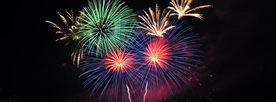 Wo man in Wiesbaden am besten das Feuerwerk anschauen kann