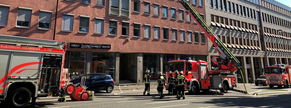 Brennender Wasserkocher löst Feuerwehreinsatz in Innenstadt aus