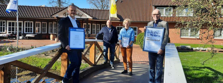 Maler und Lackierer geehrt: Silberne Ehrennadel für Schneverdingerin