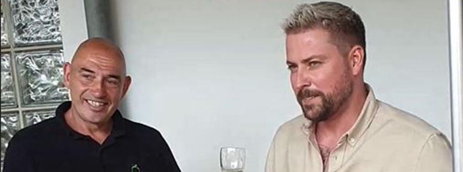 Eigener Secco: Dieser TV-Star arbeitet jetzt mit einem Mainzer Winzer zusammen