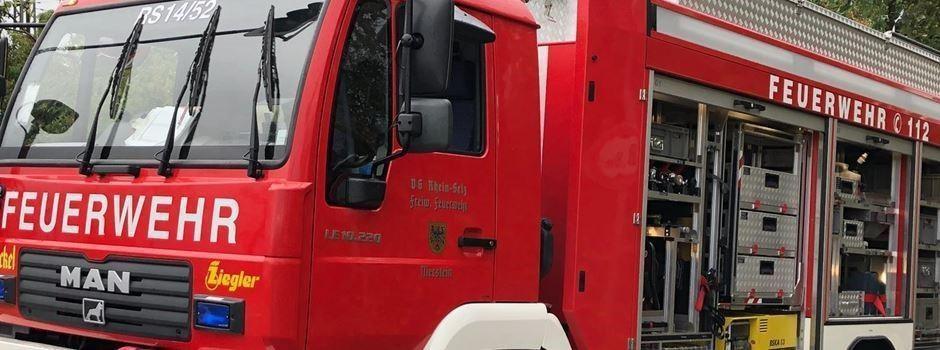 Feuerwehr Rhein-Selz: Aktuelle Information zum Katastrophenschutz-Einsatz