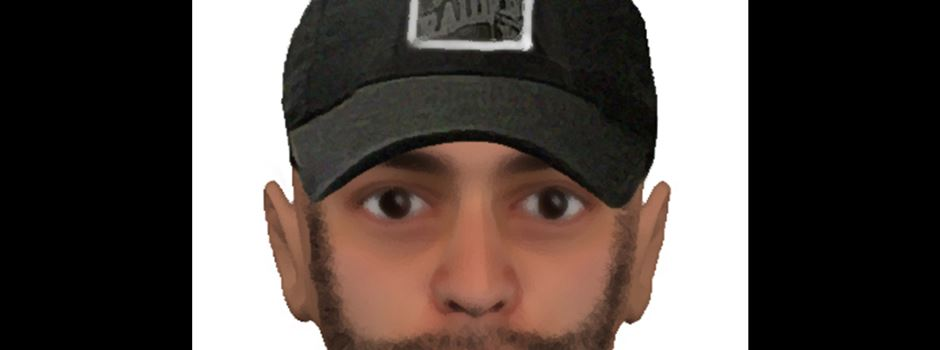 """Polizei sucht mit Phantombild nach """"Kik""""-Räuber"""