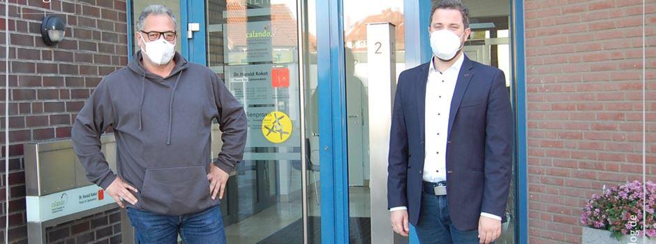 Bürgermeister Marco Diethelm und Veit Malalla zur Corona-Situation