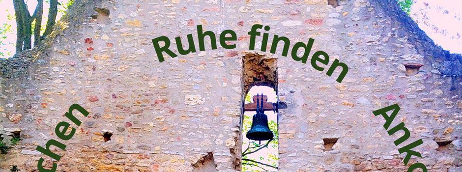 Am 18. September pilgern auf dem Lutherweg:  Aufbrechen - Zur Ruhe finden - Ankommen