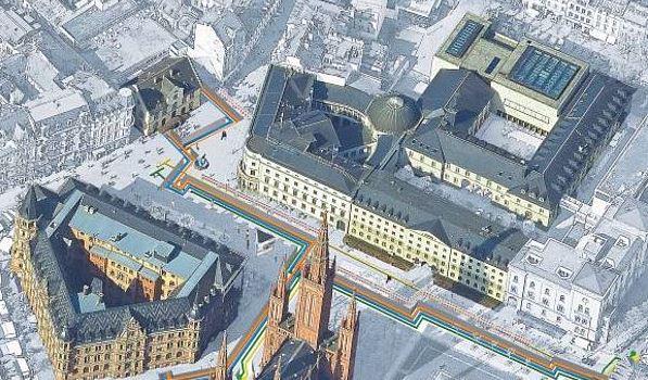 Aus Rücksicht auf Einzelhändler: ESWE Versorgung verschiebt Baustelle in Innenstadt