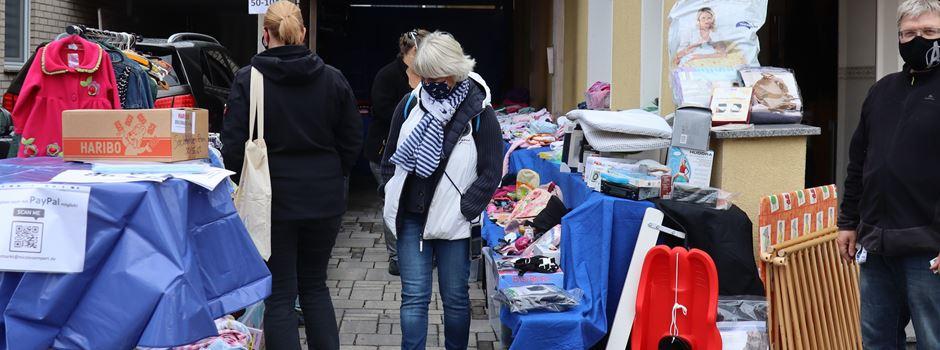 Erfolgreicher Garagenflohmarkt in Alt-Lülsdorf