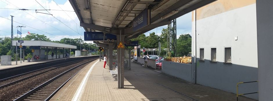 Polizistin bei Einsatz am Kasteler Bahnhof verletzt