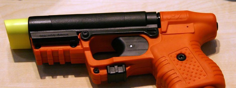 Ordnungsamt setzt auf Pfefferspraypistolen