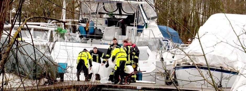 UPDATE: Ölteppich im Mondorfer Hafen