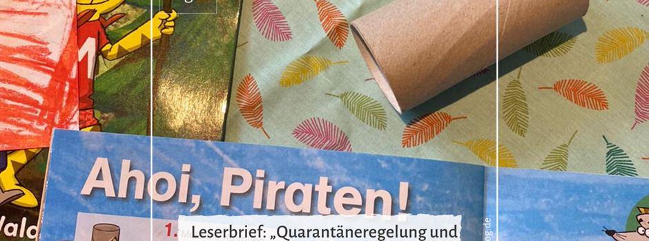 """Leserbrief: """"Quarantäneregelung und Folgen für Kinder und Familien"""""""