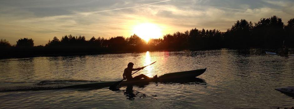 DLRG Herzebrock-Clarholz trainiert auch das Schwimmen und Retten im offenen Gewässer