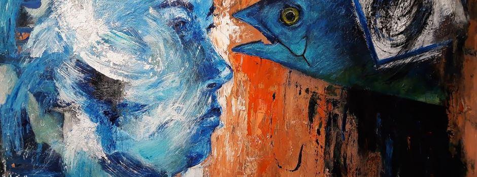 Ausstellung in der Galerie Haus Samson: Meine lautlosen Schreie von Zainab Yaqubi