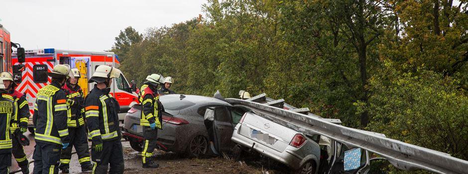 Schwerverletzter nach Unfall auf A671