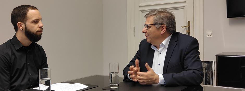 Oberbürgermeister Gert-Uwe Mende beantwortet Eure Fragen