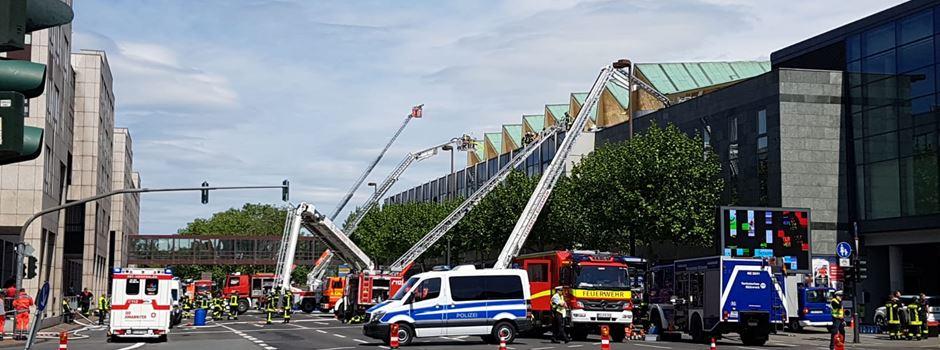 Neue Details zum Brand in der Rheingoldhalle bekannt