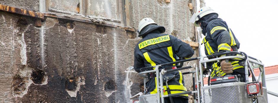 Hausbrand in Bad Soden führt zu Feuerwehr-Großeinsatz
