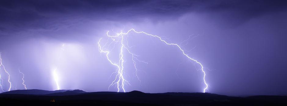 DWD warnt vor schweren Gewittern und Sturm