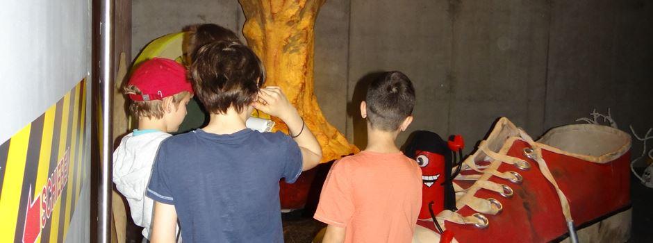 Hier können Kinder die Kreislaufwirtschaft des Abfalls erforschen