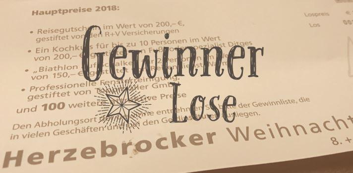 Gewinner Weihnachtsmarkt-Lose 2018