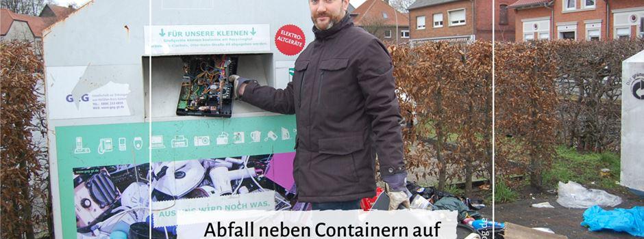 Fehlverhalten beim Müllabladen in Herzebrock-Clarholz