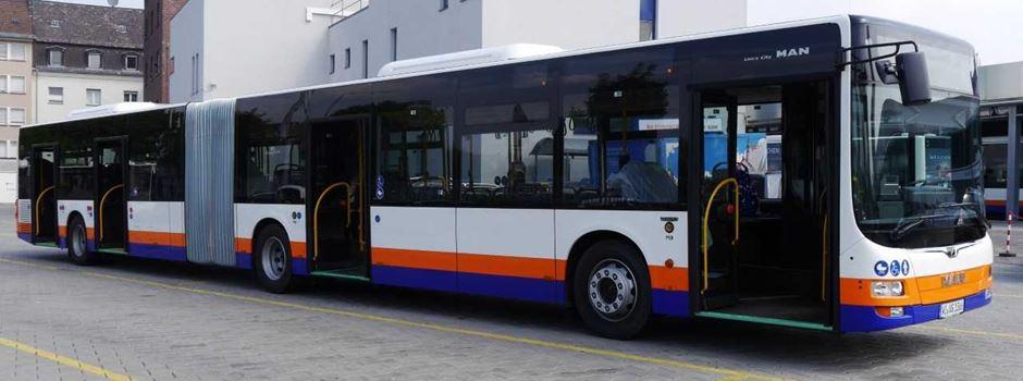 Mehrere Buslinien fahren ab Montag eine andere Strecke