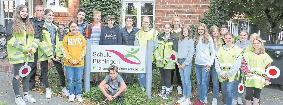 19 neue Verkehrhelfer in Bispingen