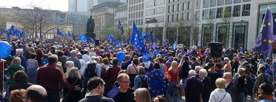 Drei Demos ziehen am Sonntag durch Frankfurt