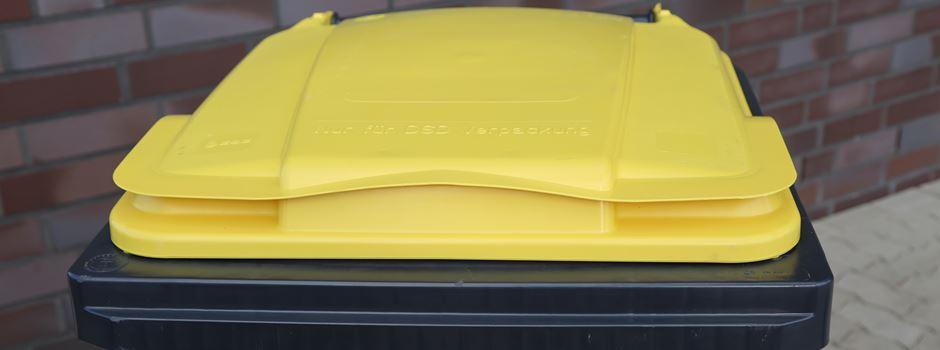 Gelbe Säcke: AHK macht Deckel drauf
