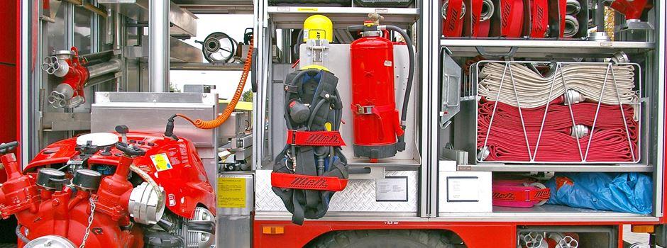 Technischer Defekt: Krad gerät in Brand