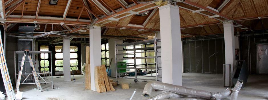 Sanierungsmaßnahme VR-Bank Regionalcenter Mondorf