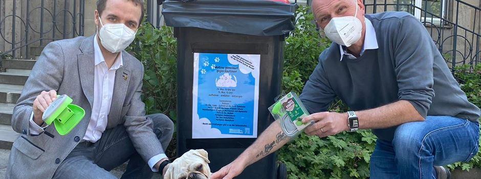 Mehr Tonnen, mehr Orte: Neuauflage der Hundekot-Sammelaktion geplant
