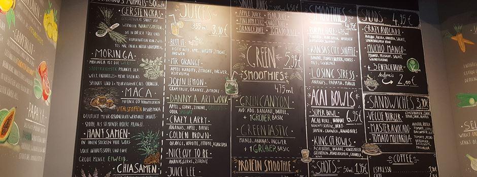 Juice Junkie – frische Smoothies, Säfte und Snacks aus der Region