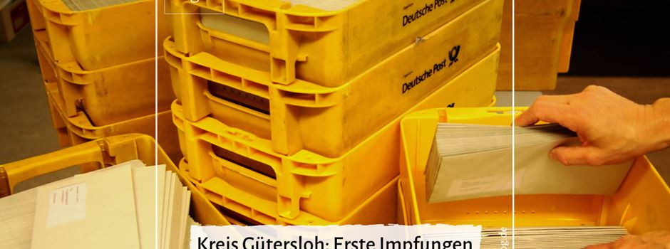 Kreis Gütersloh: Erste Impfungen im Coronaimpfzentrum