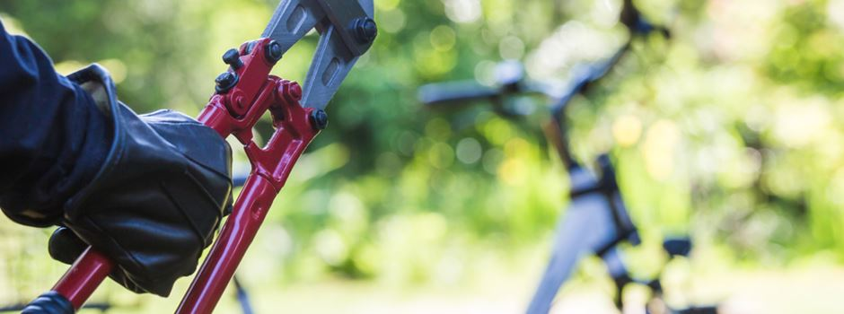 Vater hilft Sohn beim Fahrradklau
