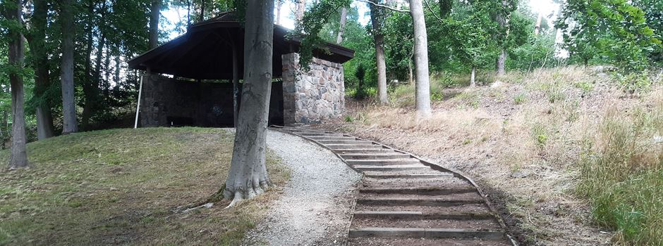 Schäden an Schutzhütte repariert