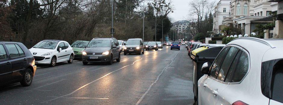 Radwege statt Parkplätze: Wann startet die Baustelle in der Sonnenberger Straße?
