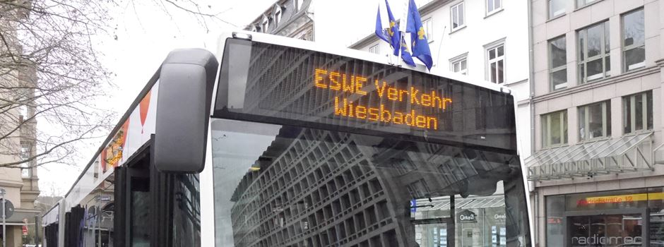 Vier Wiesbadener Buslinien fahren ab Montag anders