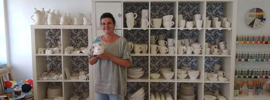 Jeder kann malen im Conno Keramik in Augsburg