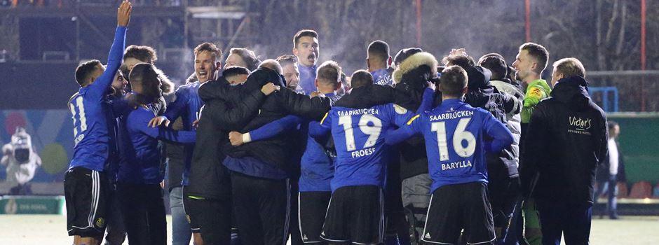 Halbfinalspiel des 1.FC Saarbrücken terminiert