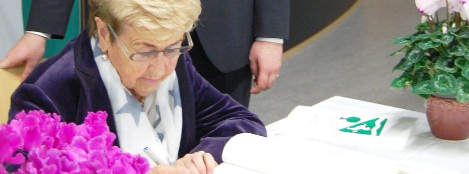 Ursula Schrader erhält Ehrenbrief für ehrenamtliche Tätigkeit