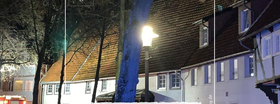 Einsturzgefahr: Schornstein am Kirchplatz