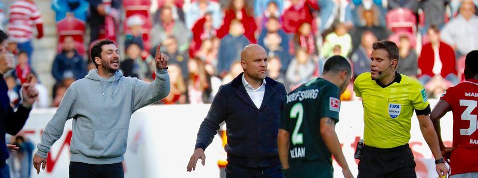 """Mainz-Trainer Schwarz kritisiert Strafe: """"Wahnsinn"""""""