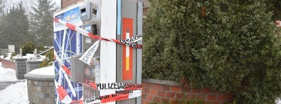 Automatenaufbrecher erneut festgenommen