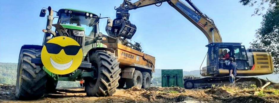 Ahrtal: Niederkasseler Bauhofmitarbeiter im Katastrophengebiet