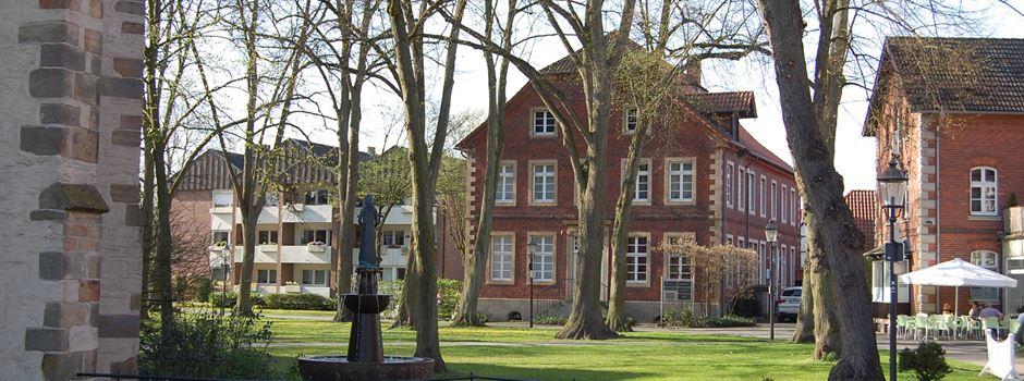 Sanierung Kirchplatz Clarholz